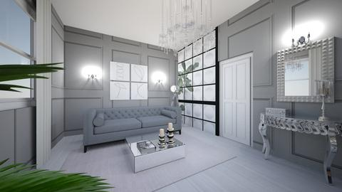 Plan parter - Glamour - Living room  - by JosephineJJ
