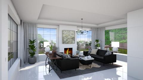 Estoril V - Modern - Living room  - by Claudia Correia