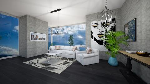 sky - Living room - by Muneesssssss