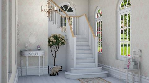 shabby chic hallway - by fippydude