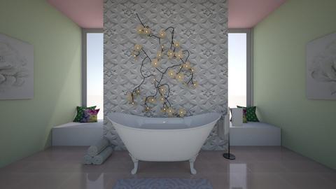 Lilly pad bath - Bathroom  - by azoo