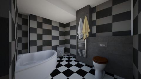 Baie radul_postare - Bathroom  - by IoanaC