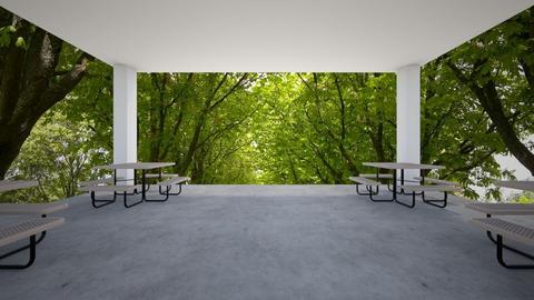 park - Garden  - by chrometoaster