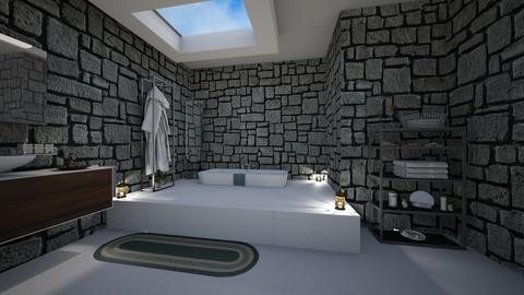 bathroom - by lusfale