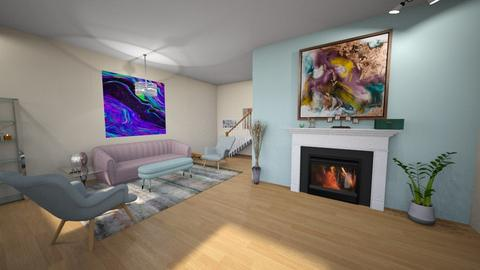 pastel living room - Living room  - by fullmoon13