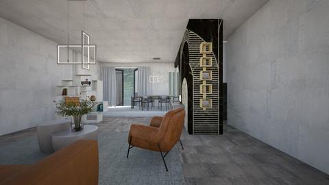 Book - Living room  - by claudia secareanu