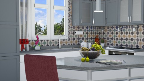 M_Kitchen corner - Modern - Kitchen  - by milyca8