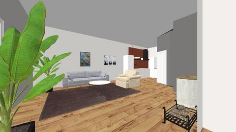 karpertje tegen de muur - Modern - Living room - by pjoter12345