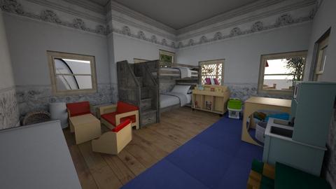 Nursery of 2 - Classic - Kids room  - by rebuild