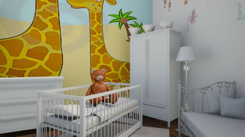 baby 1 - Modern - Bedroom  - by Ana Quintero