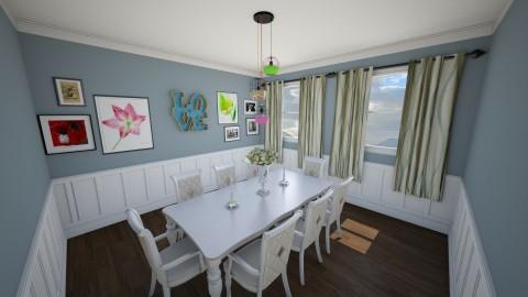 True - Dining room  - by mycha