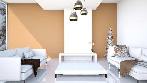 A Minimalist Christmas - Minimal - Living room  - by Vampire_Kitty