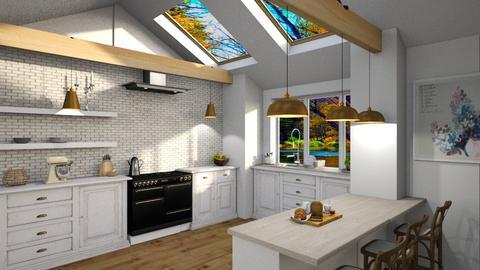 cozinha farm3 - Kitchen  - by soralobo