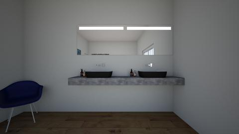 handicapped bathroom - Bathroom  - by sjdinger