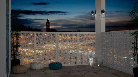 Moroccan Courtyard - by Aristar_bucks
