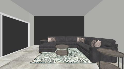 Porter Ranch Resident - Living room - by britneylivingspaces