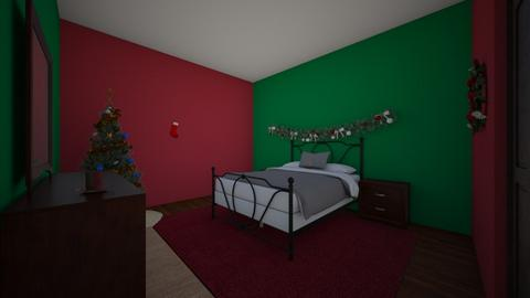 christmas room - Classic - Bedroom  - by hey i am me