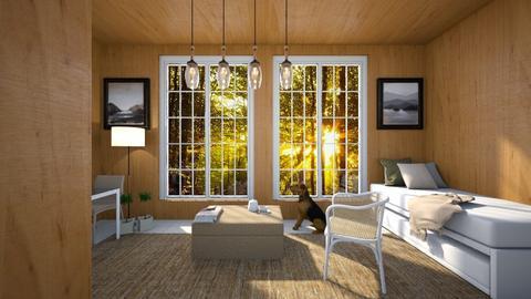wood - Living room  - by Kokore