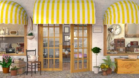 Antique Shop - Vintage - by Sally Simpson