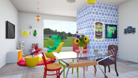 Maximalista - Living room - by Carolina Soriani