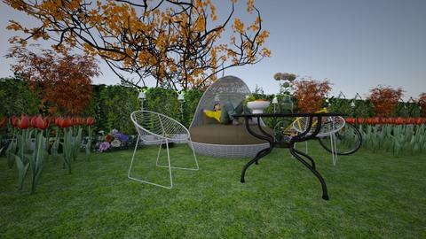 garden sleep - Garden  - by vishu8