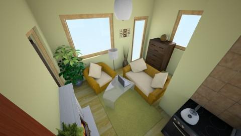 Oliva 2 - Living room - by Blueflamingo