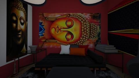 Buddha Room - Modern - by LivStyles09