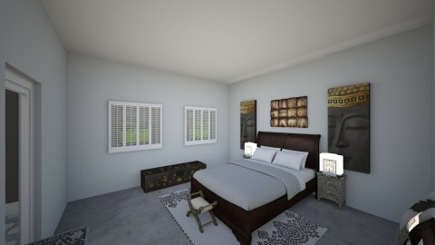 Rtmt Home_BedRoom - Rustic - Bedroom  - by pokeystyles