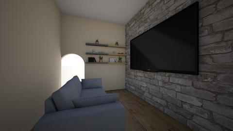 vegas lights  - Rustic - Living room - by LeLebear