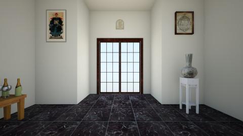 Art Gallery Foyer Door - Minimal - by ms45