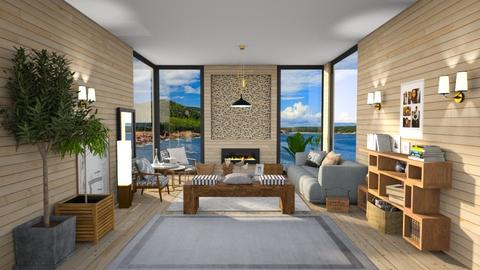 My North Place - Living room  - by Ferplace