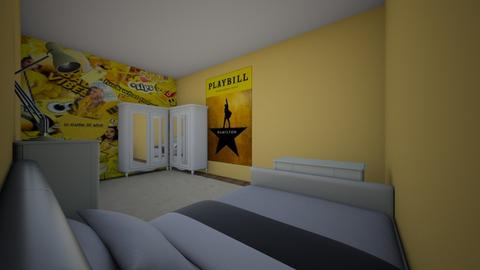 yellow bellow  - Bedroom  - by mohm43