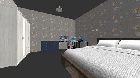 dream bedroom - Minimal - Bedroom  - by HuyenHien