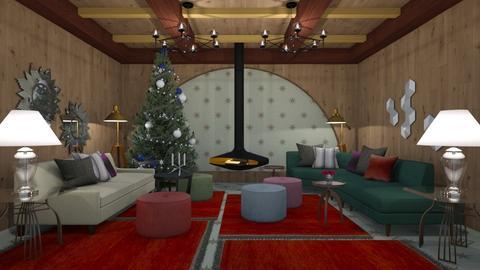 Christmas Den - Classic - Living room  - by 3rdfloor