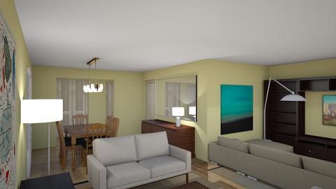 MBJ recepcionA vista3 - Living room  - by bpgarqs