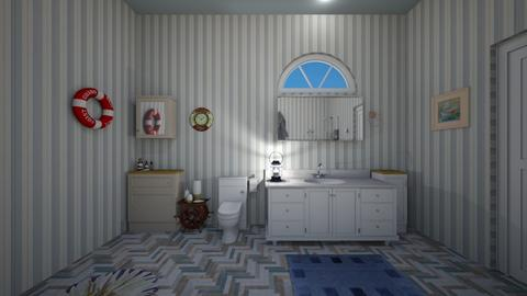 Nautical Bathroom - Bathroom  - by mspence03