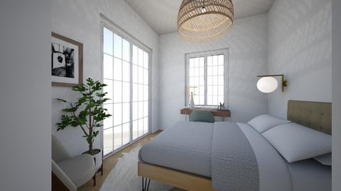 Guest House  - Modern - Bedroom  - by virtuestella
