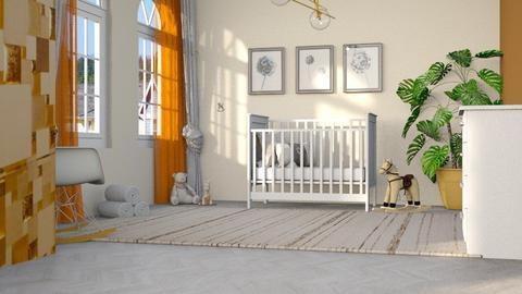Surprise Baby Nursery - Kids room  - by luna selvaggia