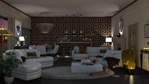 Living ROOM - Living room  - by nat mi