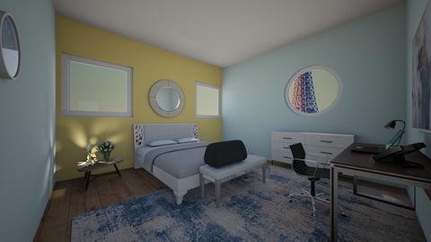 blue raspberry - Classic - Bedroom  - by Thekickfamily