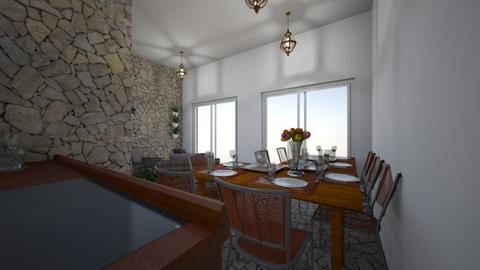 HOME - Dining room - by lpetrova96