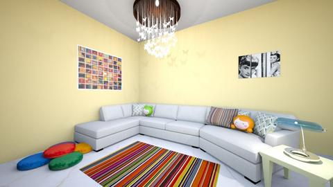 Fun living Living Room - Living room - by IHMSgortney