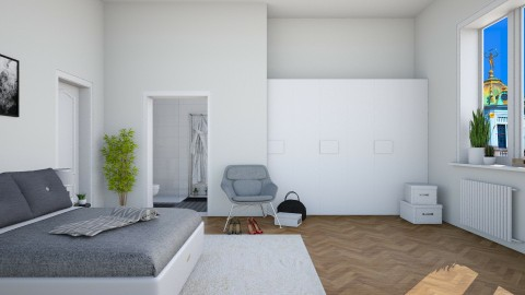 Apartment  - Modern - Bedroom  - by martinabb