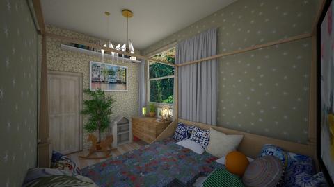 room 2 - Bedroom - by Pennychange