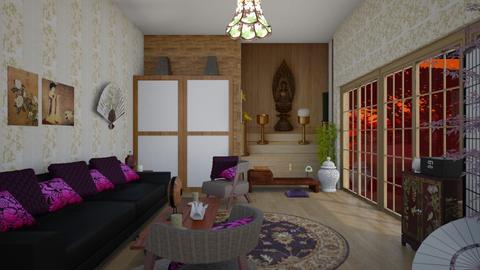 Japan Lifestyle - Global - Living room  - by Irishrose58