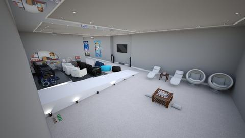 Home Cinema in Basement - Modern - by mydreamjob25