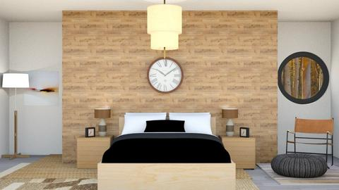 Statement piece - Rustic - Bedroom  - by BubbleSloth