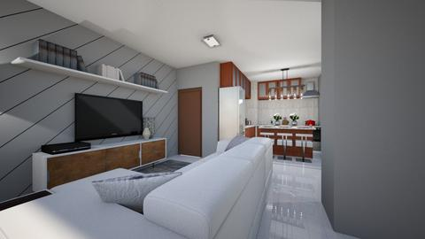 Living_Kitchen - Living room - by ElianeInteriors