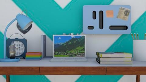 blusy work - Modern - Office  - by Evangeline_The_Unicorn