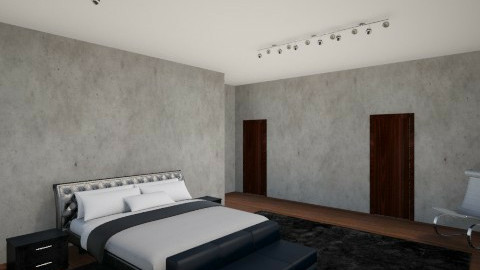 Closet view - Bedroom  - by Yasmine Sakkez